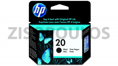 HP INK CARTRIDGE 20 BLACK
