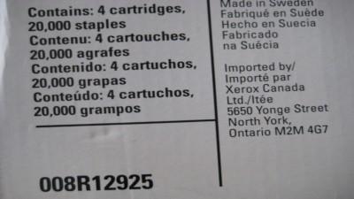 XEROX  STAPLES 008R12925