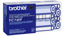 BROTHER  PC-74RF Black Roller 1 piece