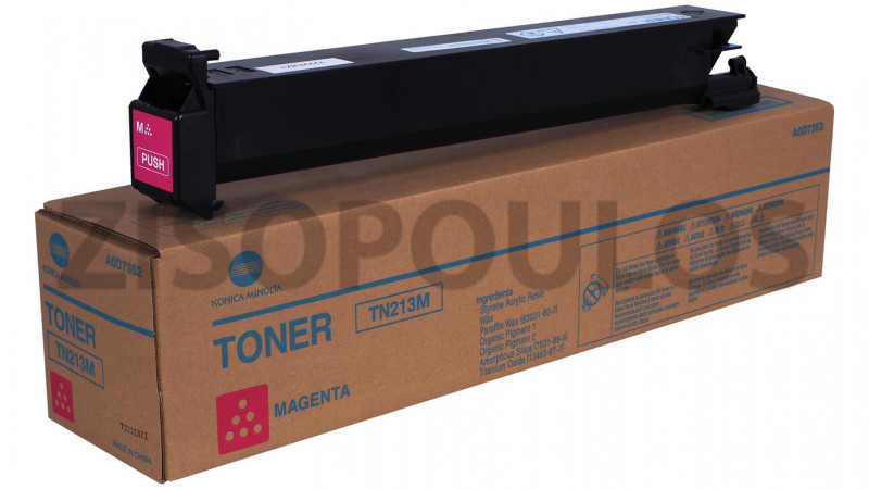 DEVELOP TONER TN 213 MAGENTA A0D73D2