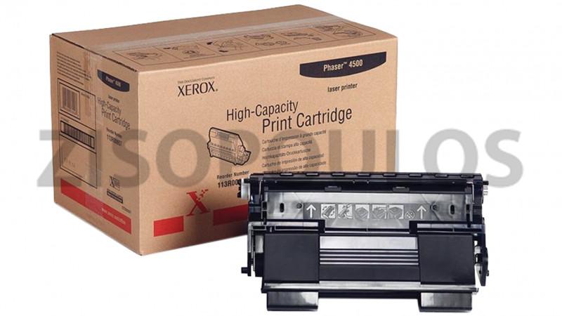 XEROX TONER PHASER 4500 BLACK 113R00657