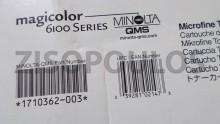 KONICA MINOLTA  Magicolor 6100 Series Magenta Toner