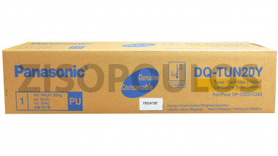 PANASONIC  TONER DQ-TUN20Y YELLOW