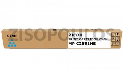 RICOH  TONER MPC 2551 HY CYAN 841505