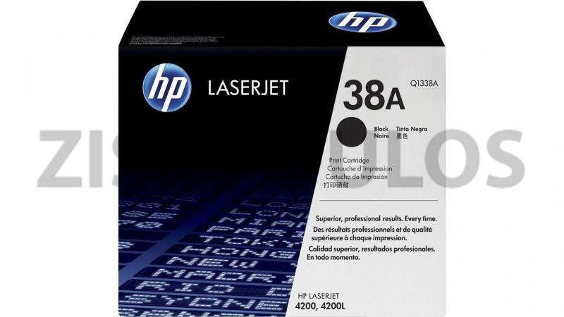 HP TONER 38A BLACK Q1338A