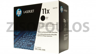 HP TONER CARTRINGE Q6511X BLACK