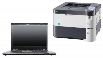 Πακέτο προσφοράς: Laptop Lenovo T430 & ασπρόμαυρος εκτυπωτής Triumph Adler P5030dn