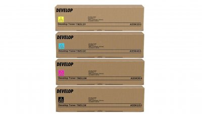 Set toner Develop TN 512 (B, M, C, Y)
