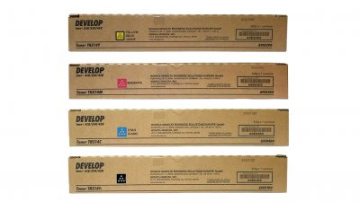 Set toner Develop TN 514 (B, M, C, Y)
