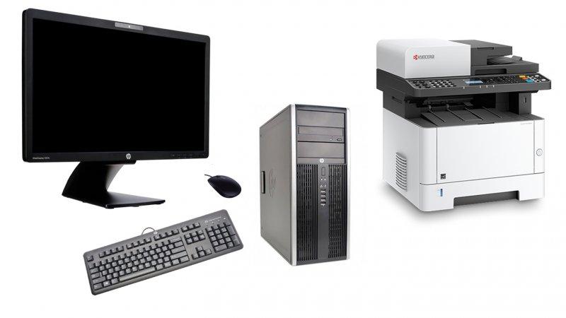 Back To School Προσφορά με Ανακατασκευασμένα Υπολογιστή HP + Οθόνη HP + Kyocera Ecosys M2540dn