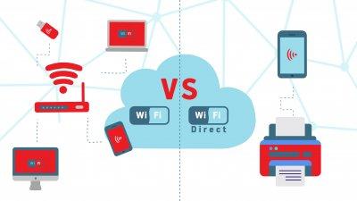 WiFi vs WiFi Direct