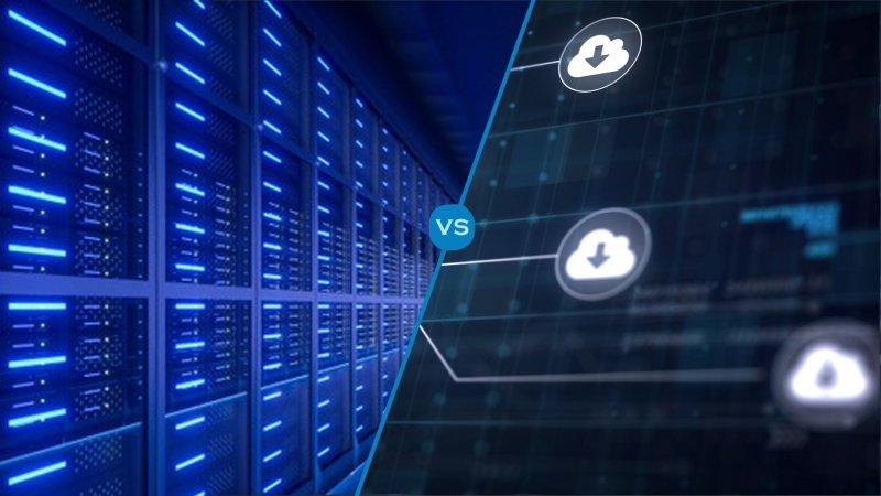 Server ή Cloud Αποθήκευση Δεδομένων