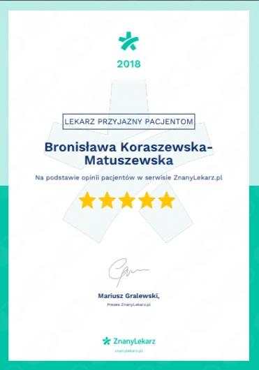 Bronisława Koraszewska-Matuszewska - Galeria zdjęć