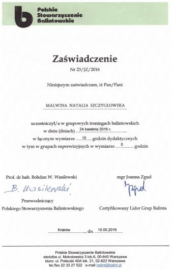 Mgr Malwina Szczygłowska - Umów wizytę online | ZnanyLekarz pl