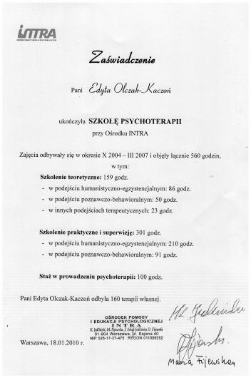 Edyta Olczak-Kaczoń - Galeria zdjęć
