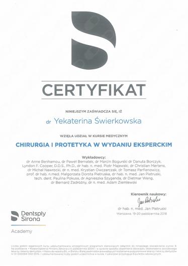 Lek  dent  Katerina Świerkowska - stomatolog | ZnanyLekarz pl