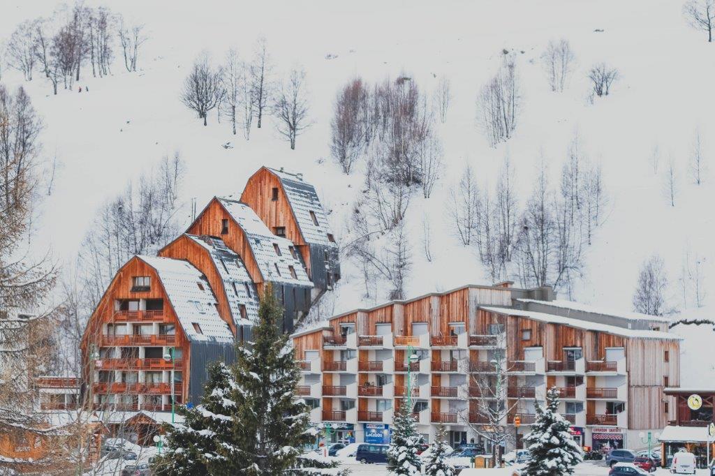 Les Deux Alpes Frankrijk appartementen sneeuw bergen wintersport