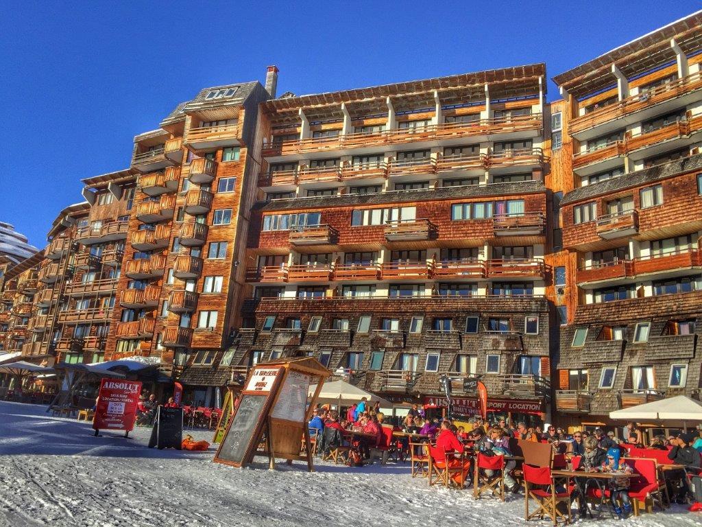 Avoiraz appartementen frankrijk in de sneeuw