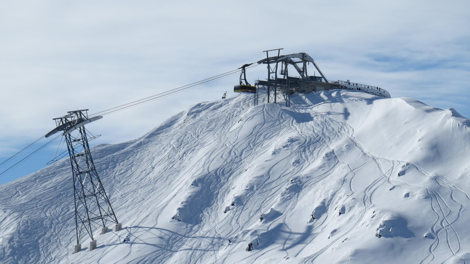 Finkenberg Mayrhofen Oostenrijk in de sneeuw