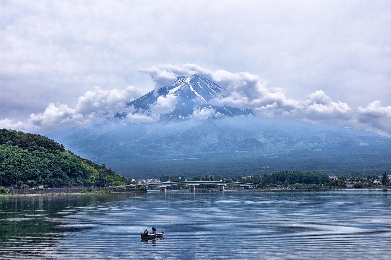 Japan uitzicht Mount Fuji