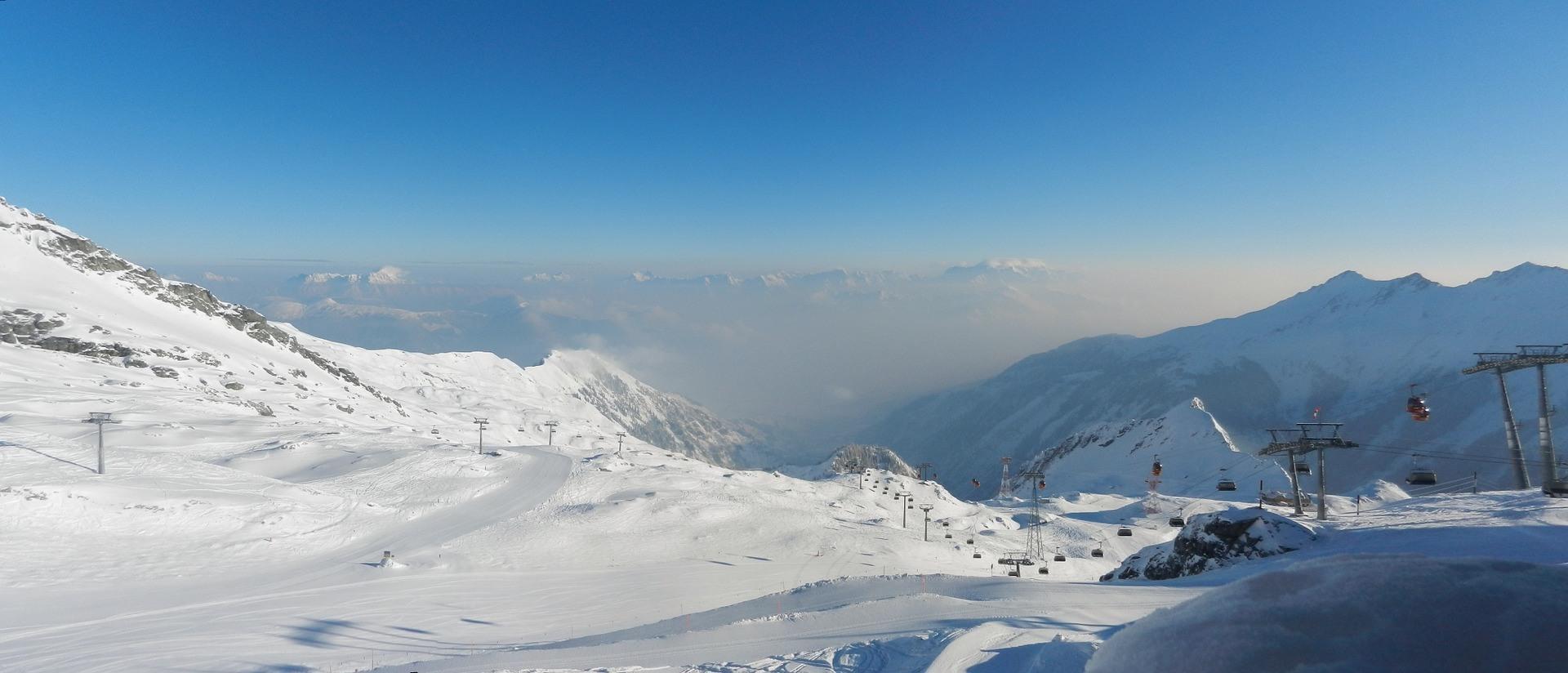 Kitzsteinhorn Oostenrijk sneeuw bergen