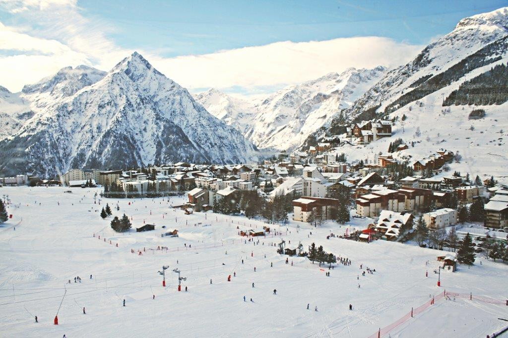 Les Deux Alpes skigebied Frankrijk sneeuw bergen
