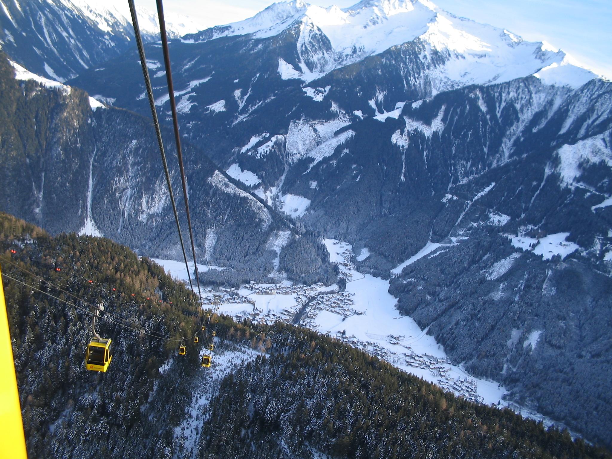 Mayrhofen skilift