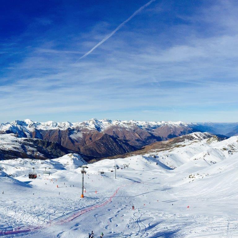 Meribel Frankrijk Sneeuw