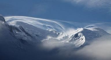 Mont Blanc Frankrijk sneeuw