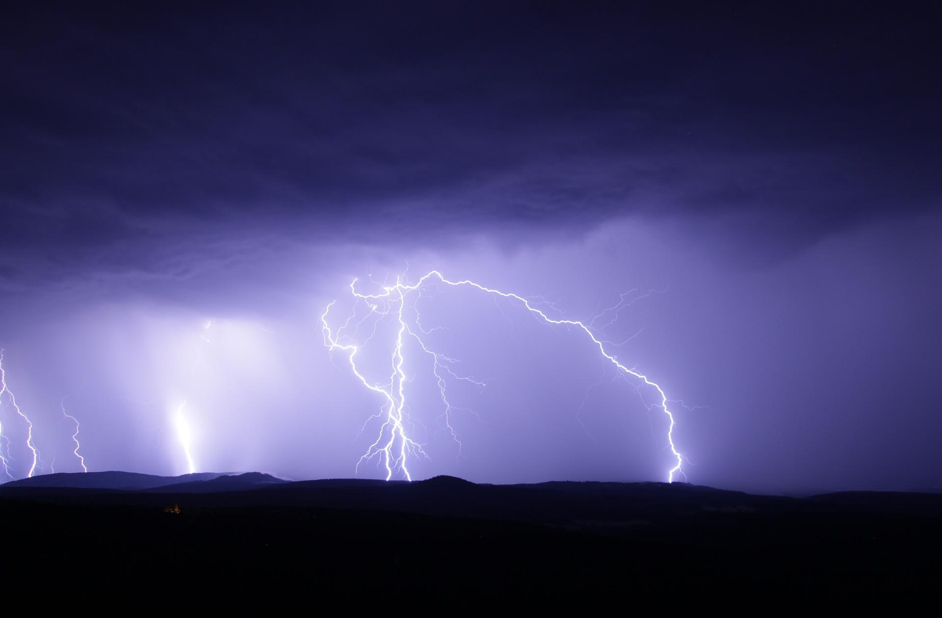 Onweer Zuid Afrika