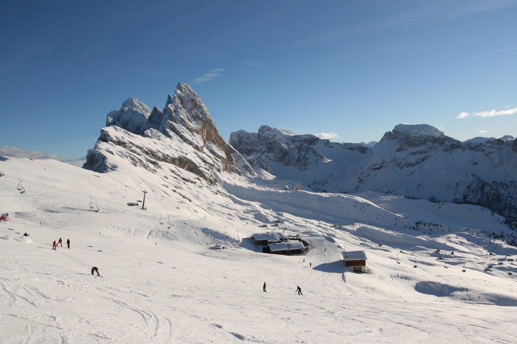 Ortisie Italie piste sneeuw