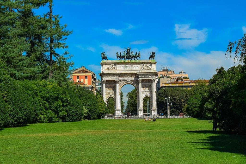 Parco Sempione Milaan