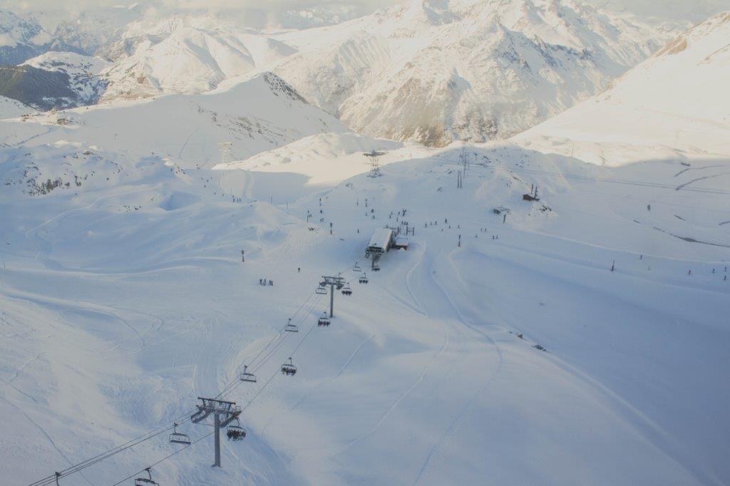 Les Deux Alpes Frankrijk piste sneeuw wintersport
