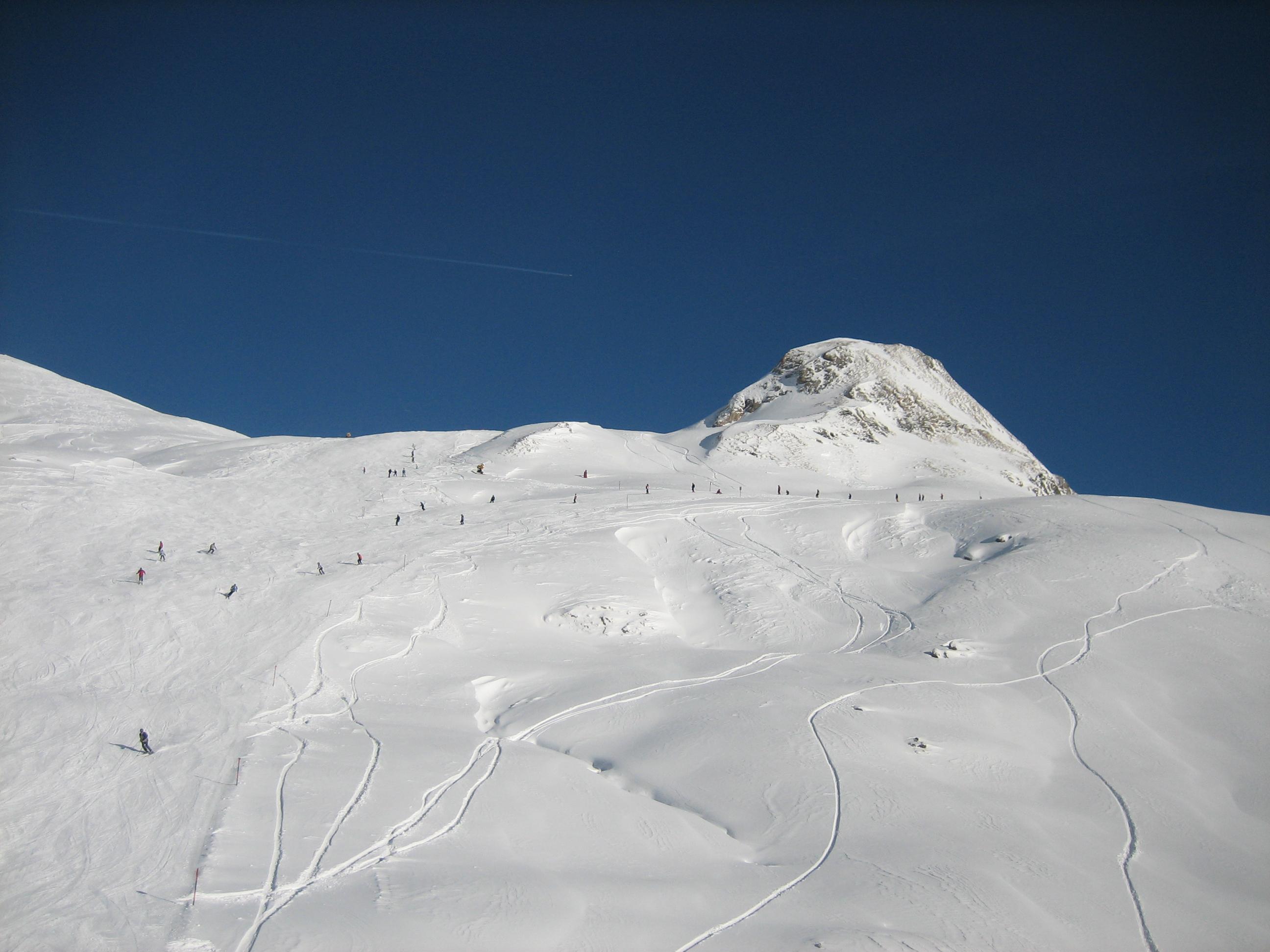 Pistes Zell am See Oostenrijk sneeuw bergen
