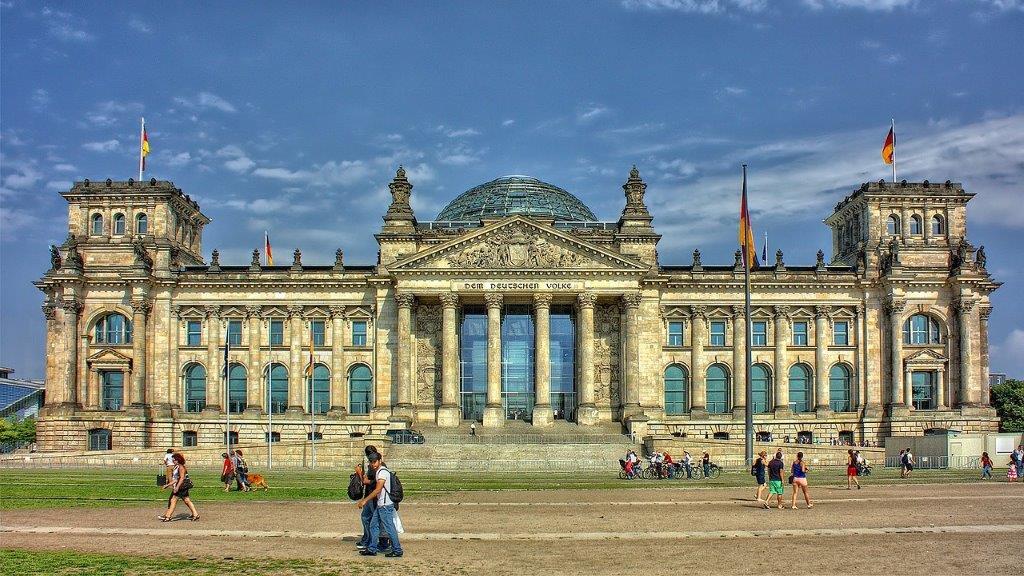 Reichstag Berlijn Duitsland