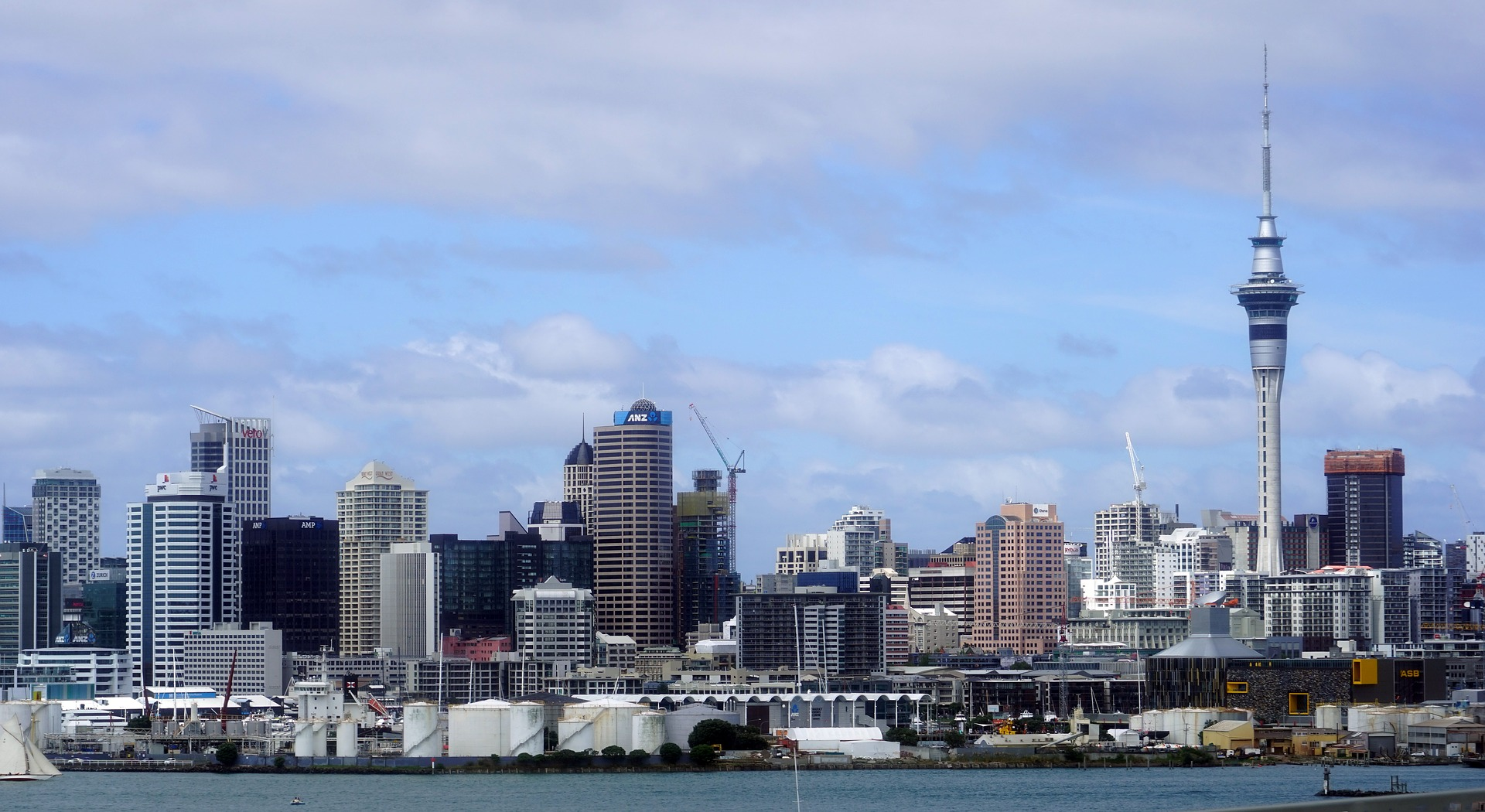 Skytower Auckland Nieuw Zeeland