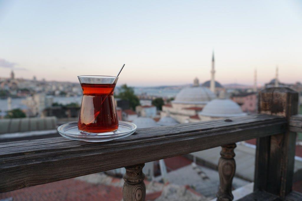 Thee drinken Istanbul