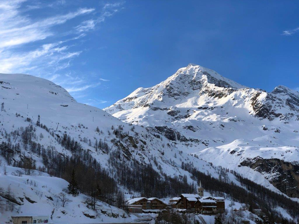 Tignes Frankrijk Sneeuw wintersport