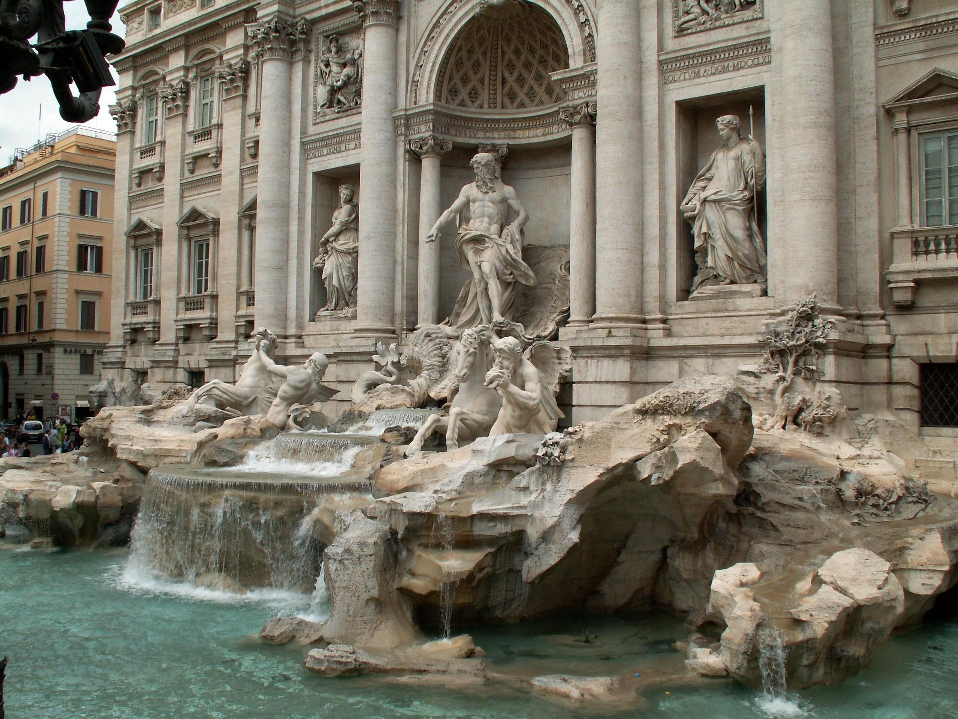 Trevi Fontijn Rome