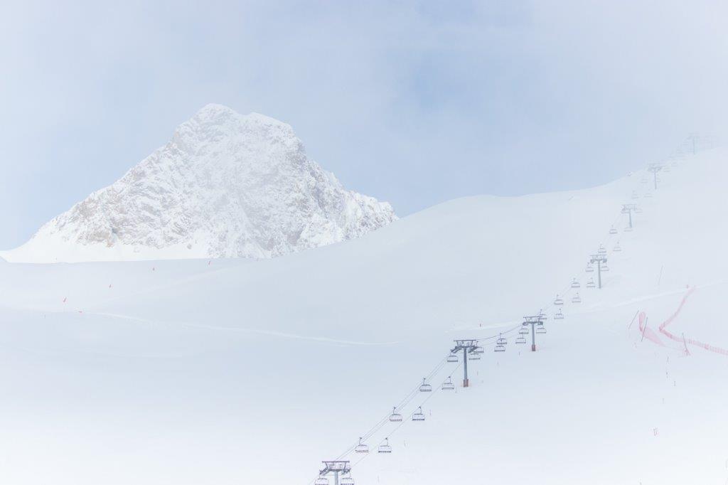 Val Claret Frankrijk sneeuw