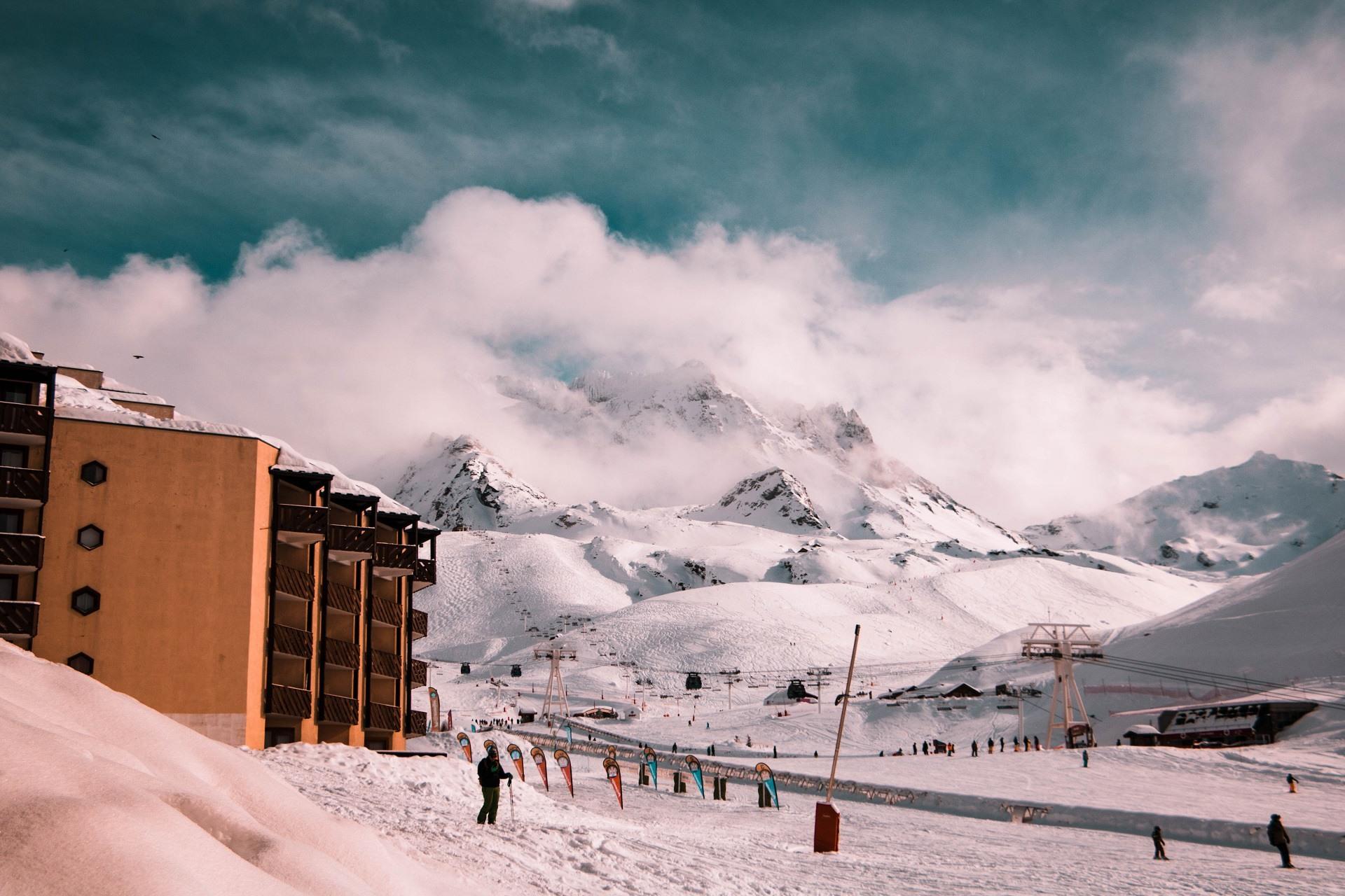 Val Thorens Frankrijk sneeuw