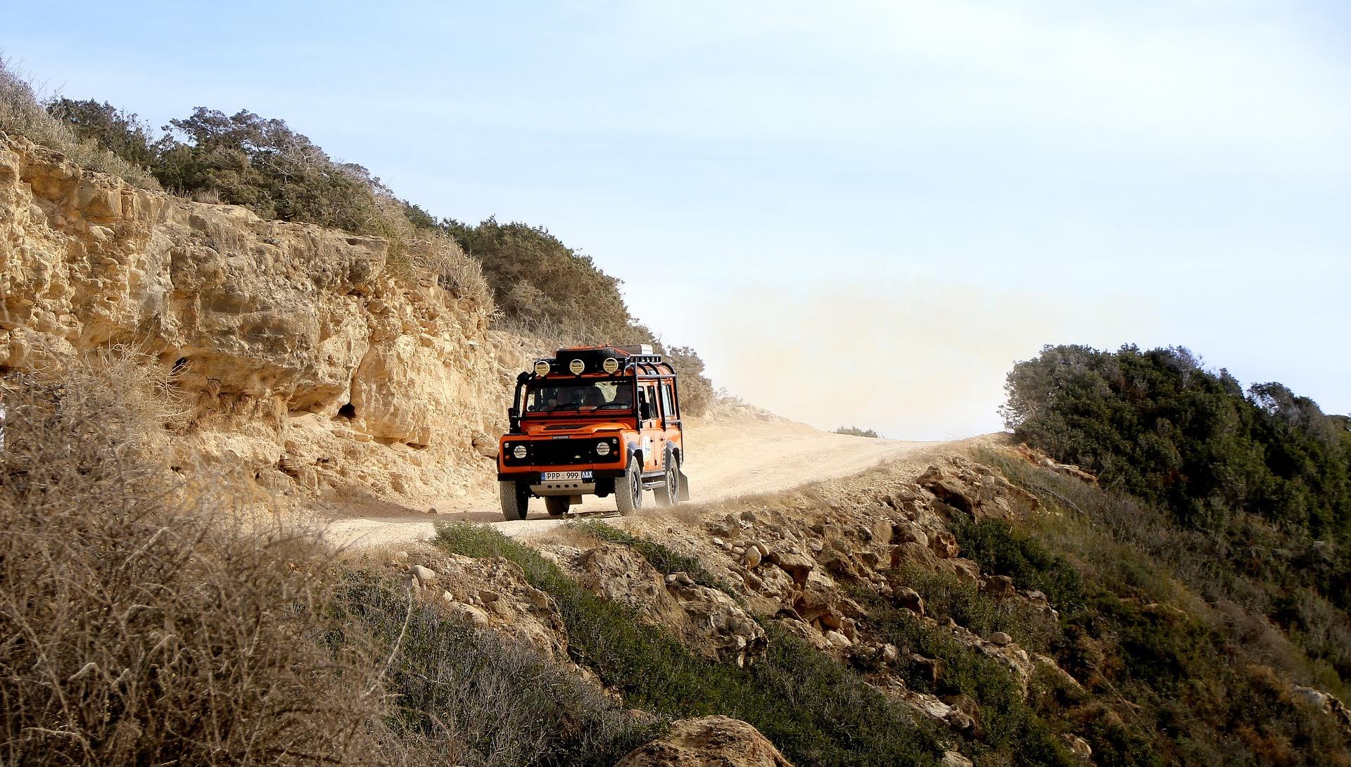 Vervoer Jeep Zuid Afrika