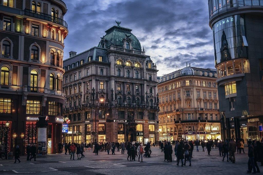 Winkels Wenen Oostenrijk