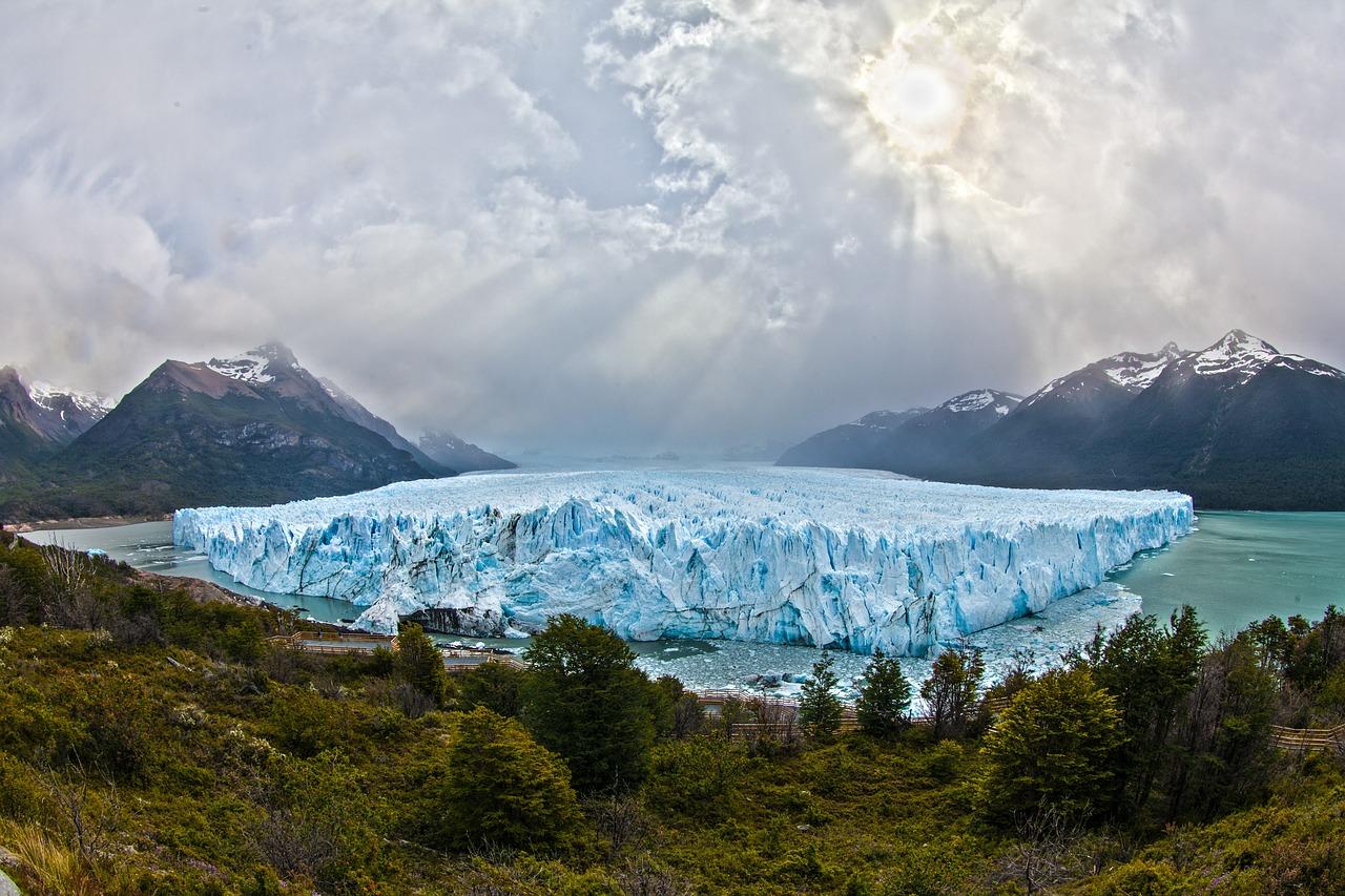 Argentinien Ansicht Gletscher
