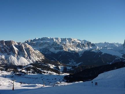 Dolomieten Italie sneeuw skipiste