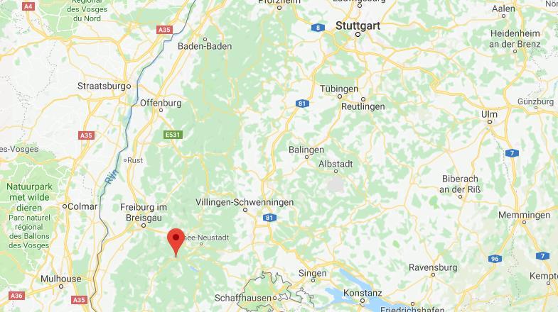 Feldberg Duitsland op kaart Google Maps
