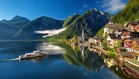Hallstat Oostenrijk