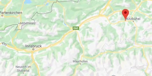 Kitchberg Oostenrijk op kaart Google Maps