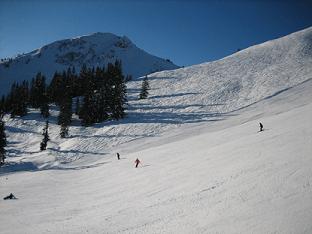 Piste Kirchberg Oostenrijk sneeuw
