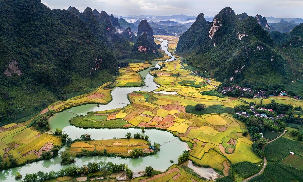 Vietnam uitzicht